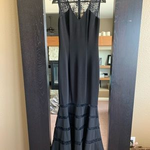 Black Formal Mermaid Cache Dress